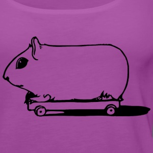 Pig on Wheels - Women's Premium Tank Top