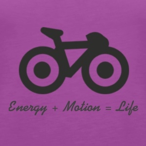 Energy, Motion and life - Women's Premium Tank Top