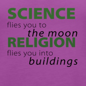 ScienceMoonReligionBuildings - Women's Premium Tank Top