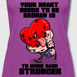 Fighting Heart - Women's Premium Tank Top