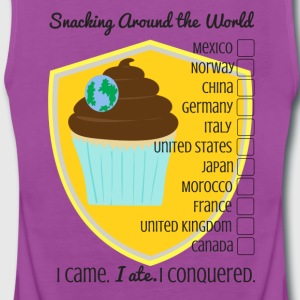 Snacking Around the World - Women's Premium Tank Top