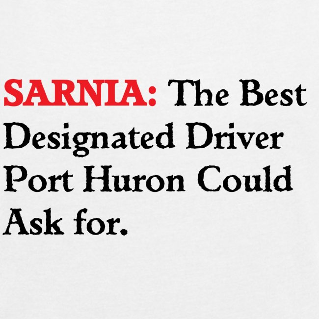 Sarnia: The Best Designated Driver - Float Down