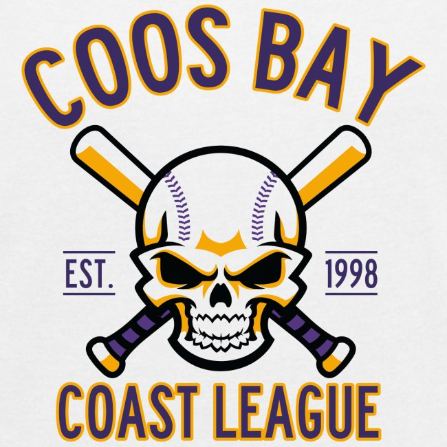 Coos Bay Coast League on White or Gray