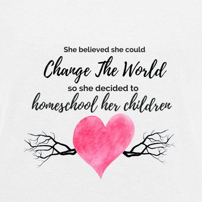 Inspirational Homeschool Shirt
