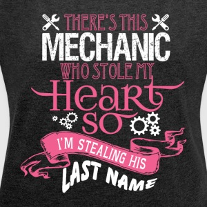 Mechanic T Shirt - Women´s Roll Cuff T-Shirt