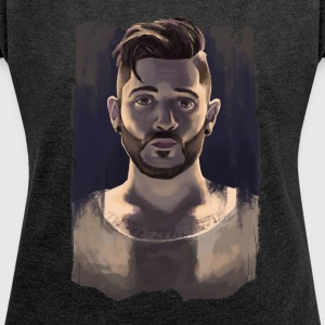 JON BELLION - Women´s Roll Cuff T-Shirt