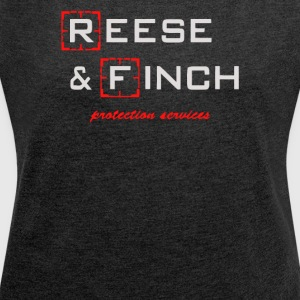 Reese and Finch - Women´s Roll Cuff T-Shirt