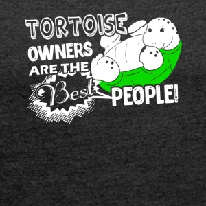 Tortoise Owner Shirt - Women's Roll Cuff T-Shirt