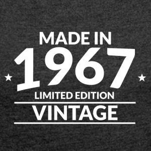 Made in 1967 Limited Edition Vintage - Women's Roll Cuff T-Shirt