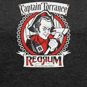 Captain Torrance Red Rum - Women´s Roll Cuff T-Shirt