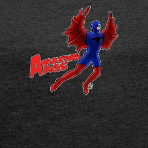 Blade Hawk from Amazing Age - Women´s Roll Cuff T-Shirt
