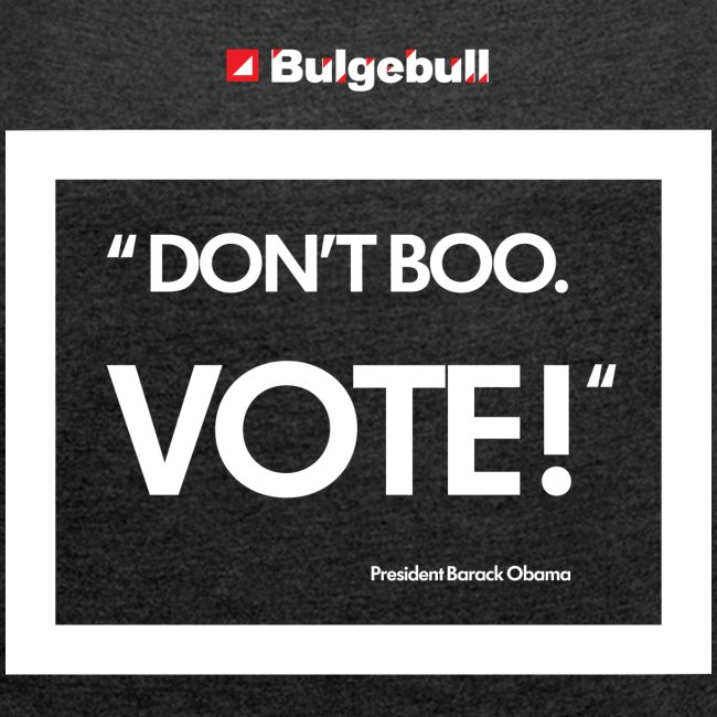BULGEBULL DONT BOO