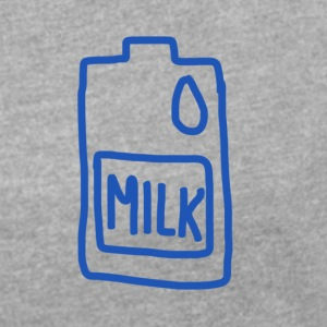 Milk - Women´s Roll Cuff T-Shirt