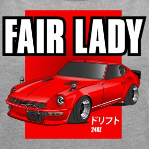 240z fair lady - Women's Roll Cuff T-Shirt