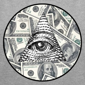 Amazing ILLUMINATI store all seeing eye logo! - Women´s Roll Cuff T-Shirt