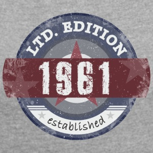 Limited Edition 1961 - Women's Roll Cuff T-Shirt