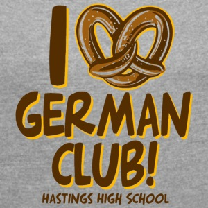 GERMAN CLUB HASTINGS HIGH SCHOOL - Women´s Rolled Sleeve Boxy T-Shirt