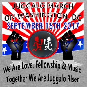 09-16-2017 Juggalo Family March On Washington DC - Women´s Roll Cuff T-Shirt