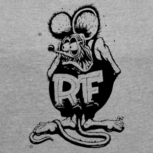 Rat Fink - Women´s Roll Cuff T-Shirt