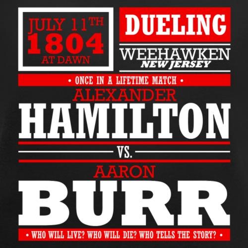 Hamilton vs. Burr - Women's Roll Cuff T-Shirt