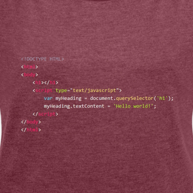 Hello World - JavaScript
