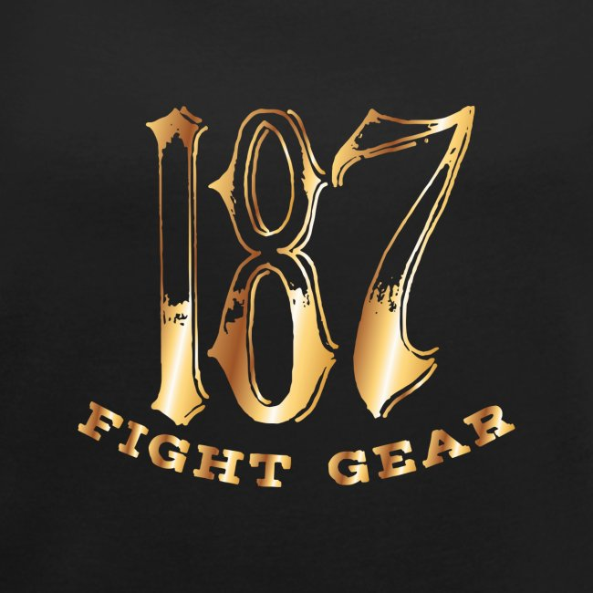 187 Fight Gear Gold Logo Sports Gear