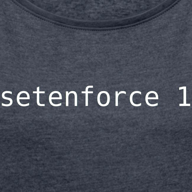 setenforce 1