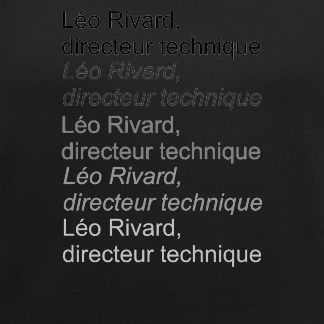 LEO TECHNICAL Rivard