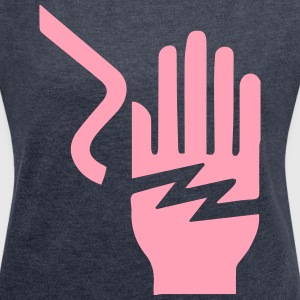 Electrical Hazard - Women´s Roll Cuff T-Shirt