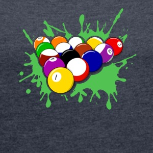 Billiards Tee & Hoodie - Women´s Roll Cuff T-Shirt