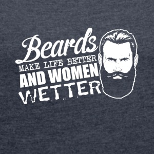 Beard Club - Women´s Roll Cuff T-Shirt