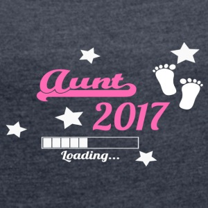 Aunt 2017 - Women´s Rolled Sleeve Boxy T-Shirt