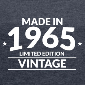 Made in 1965 Limited Edition Vintage - Women´s Roll Cuff T-Shirt