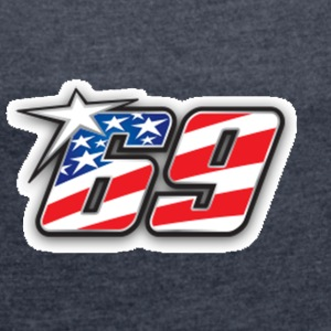 nicky hayden - The kentucky kid - Women´s Roll Cuff T-Shirt