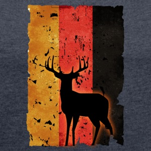 German Hunter - Women´s Roll Cuff T-Shirt