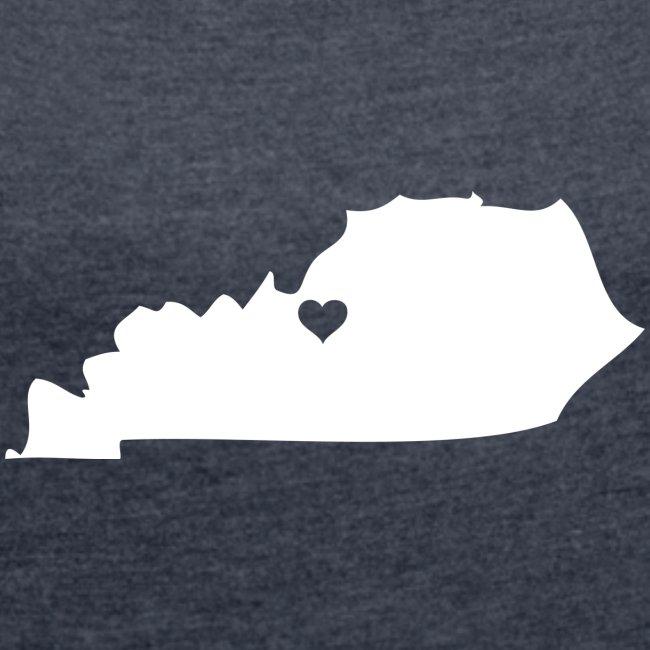 Kentucky Silhouette Heart