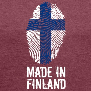 Made in Finland / Suomi - Women´s Roll Cuff T-Shirt