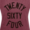 Twenty Sixty Four - Women's Roll Cuff T-Shirt