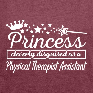 Physical Therapist Assistant - Women's Roll Cuff T-Shirt