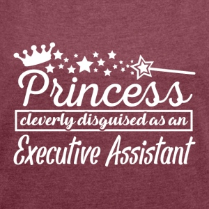 Executive Assistant - Women´s Roll Cuff T-Shirt