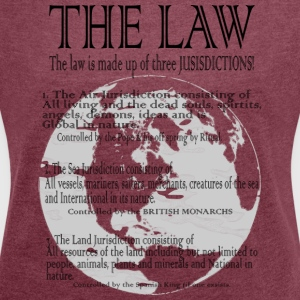 The Global Estate Trust is on a shirt! - Women´s Roll Cuff T-Shirt