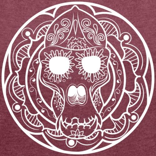 Día de Monkey - Women's Roll Cuff T-Shirt