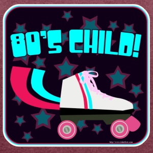 Eighties Child - Women´s Roll Cuff T-Shirt