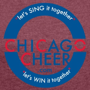 ChicagoCheer.Com - Women´s Roll Cuff T-Shirt