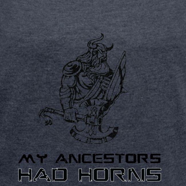 horned helmet tshirt design 2