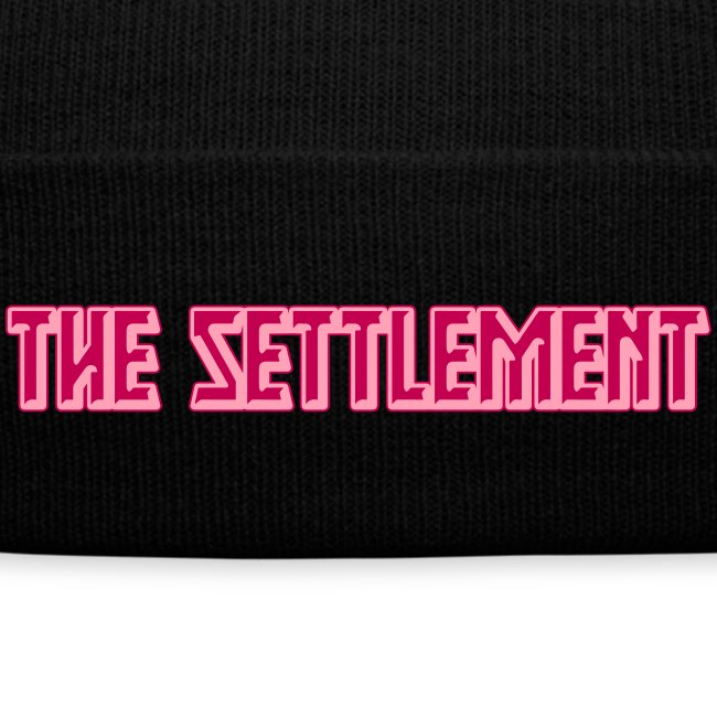 Band Name (Two-Color) | The Settlement