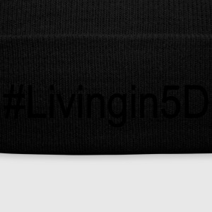 #Livingin5D - Knit Cap with Cuff Print