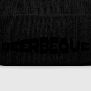beerbeque - Knit Cap with Cuff Print