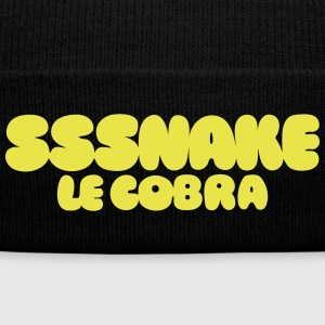 SSSNAKE - Knit Cap with Cuff Print