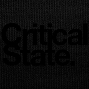 Critical State Merchandise - Knit Cap with Cuff Print